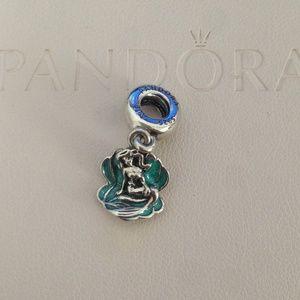pandora disney mermaid charm
